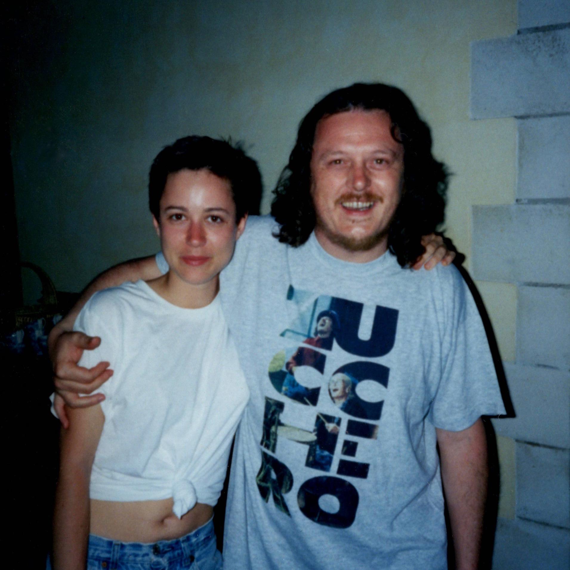 Becky with Zucchero