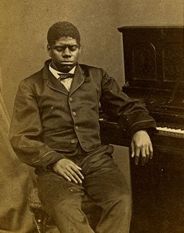 Blind Tom in 1866, aged 17.