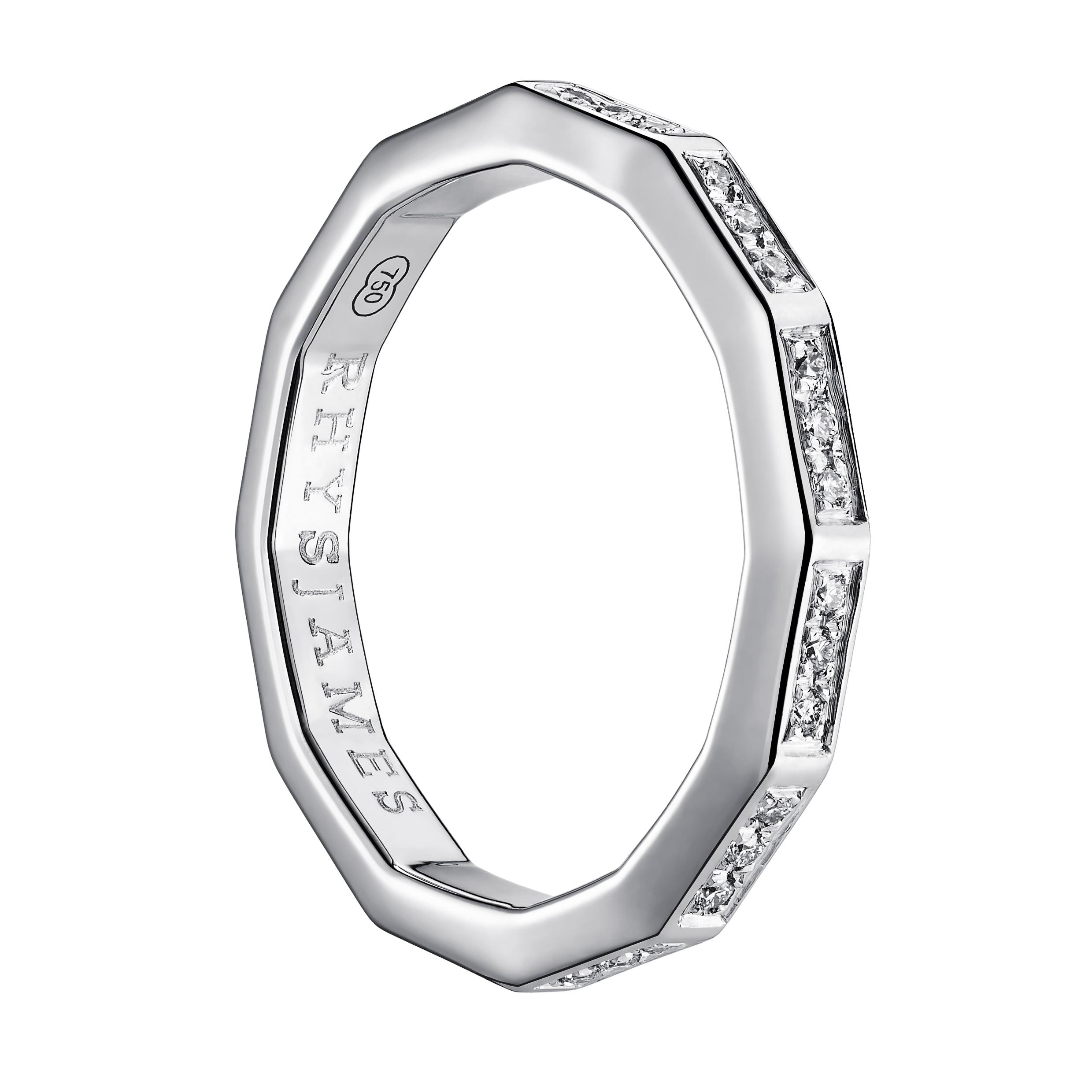 Voyager Ring | White Gold & Diamonds