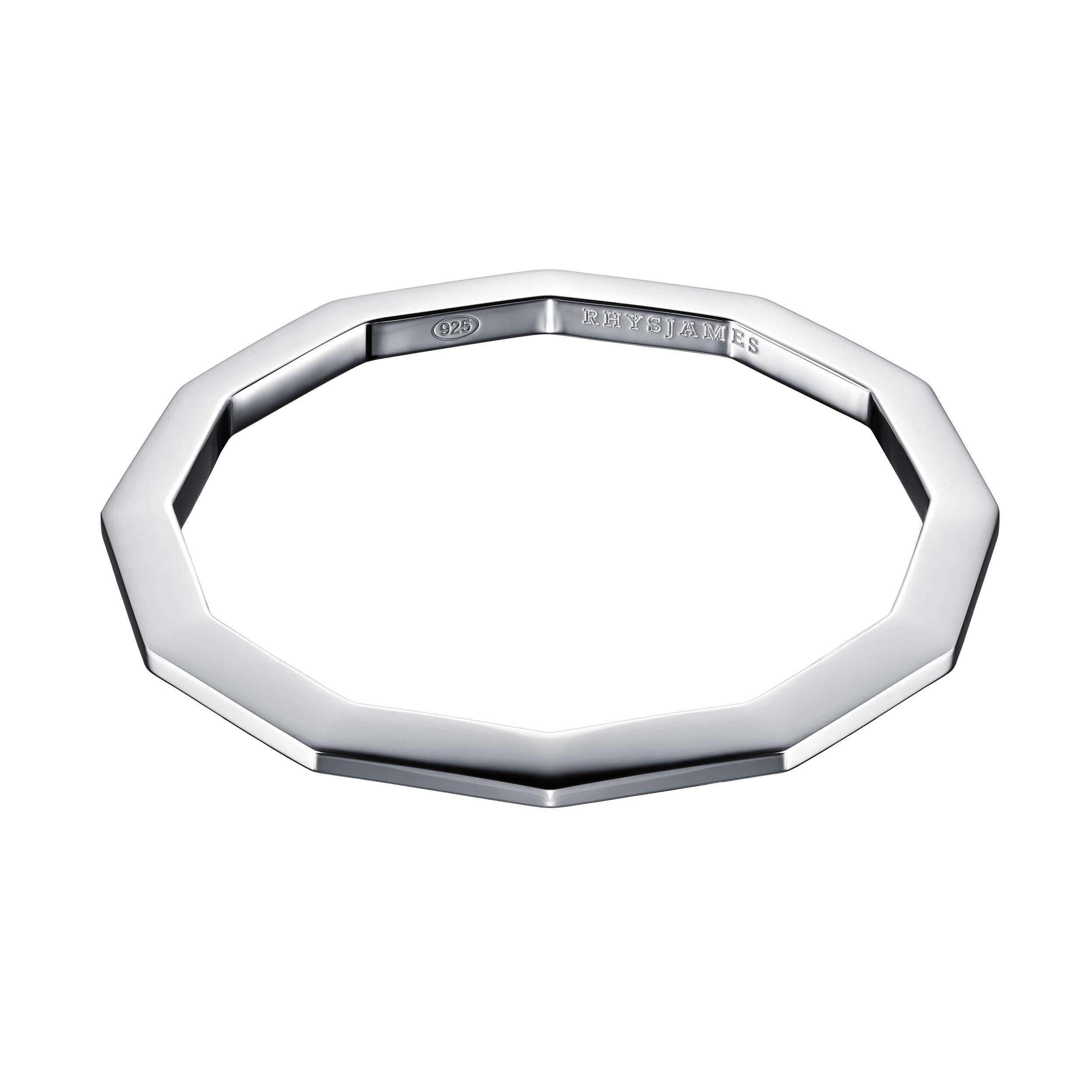 Voyager Bangle | 925 Silver