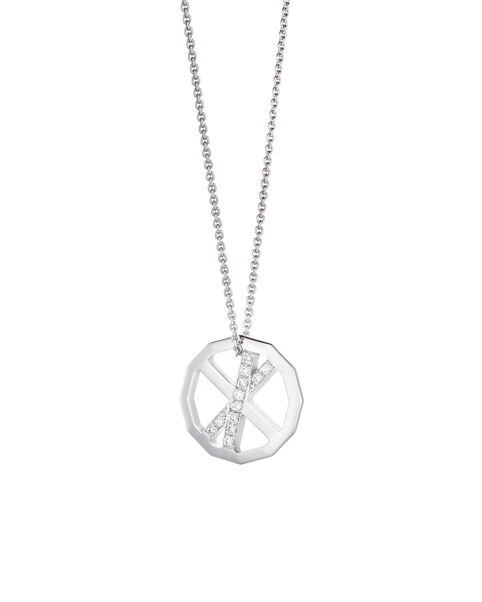 VOYAGER DUO PENDANT / PAVE EDITION