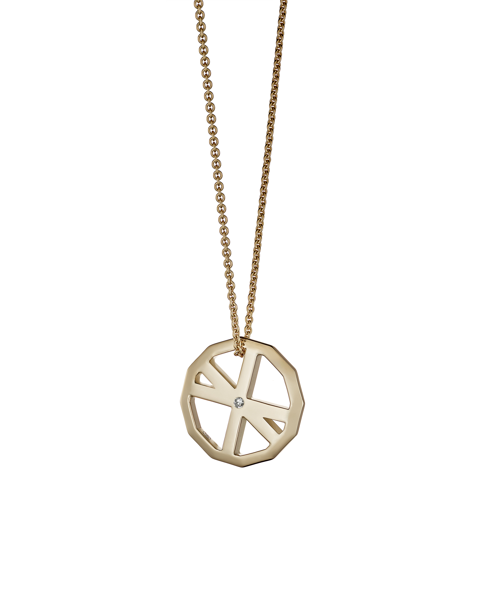 VOYAGER DUO PENDANT / ROSE GOLD