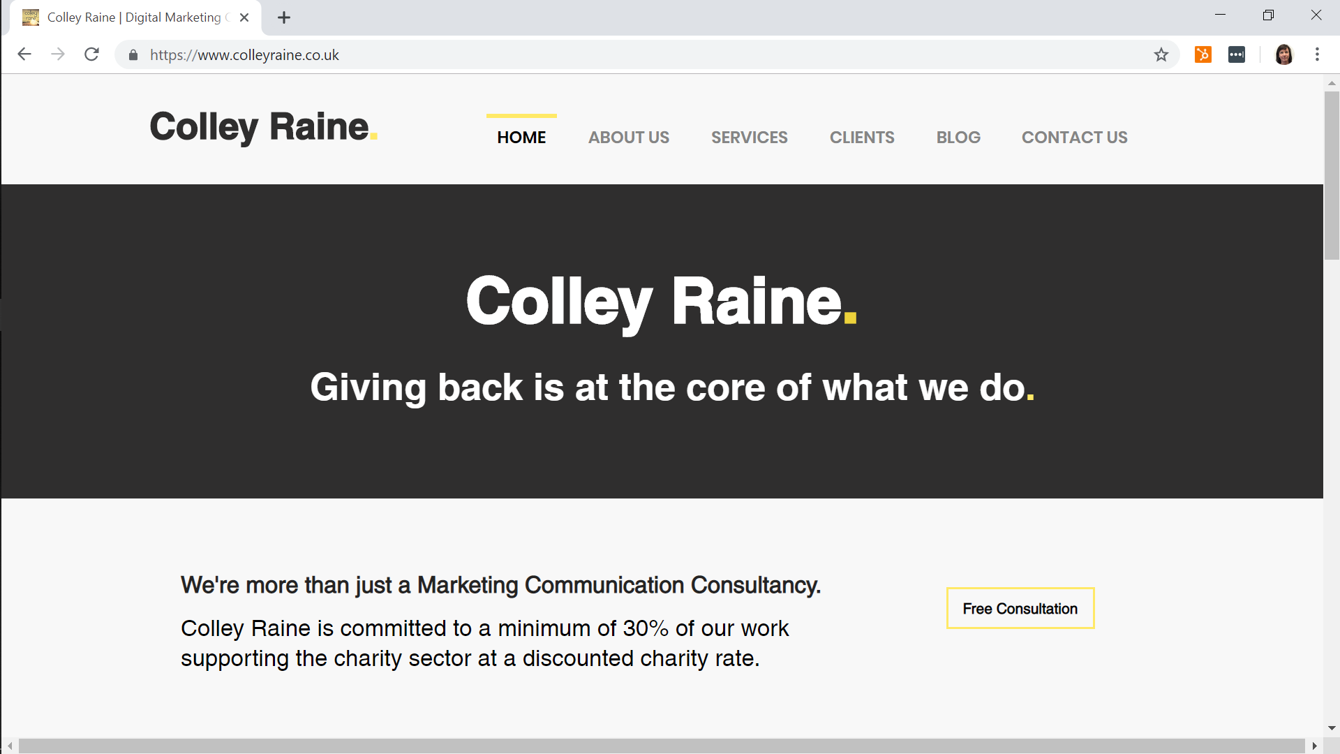 """The KITC Team delivered a flawless service in developing my new website."" - Sarah Raine, Colley-Raine Associates"