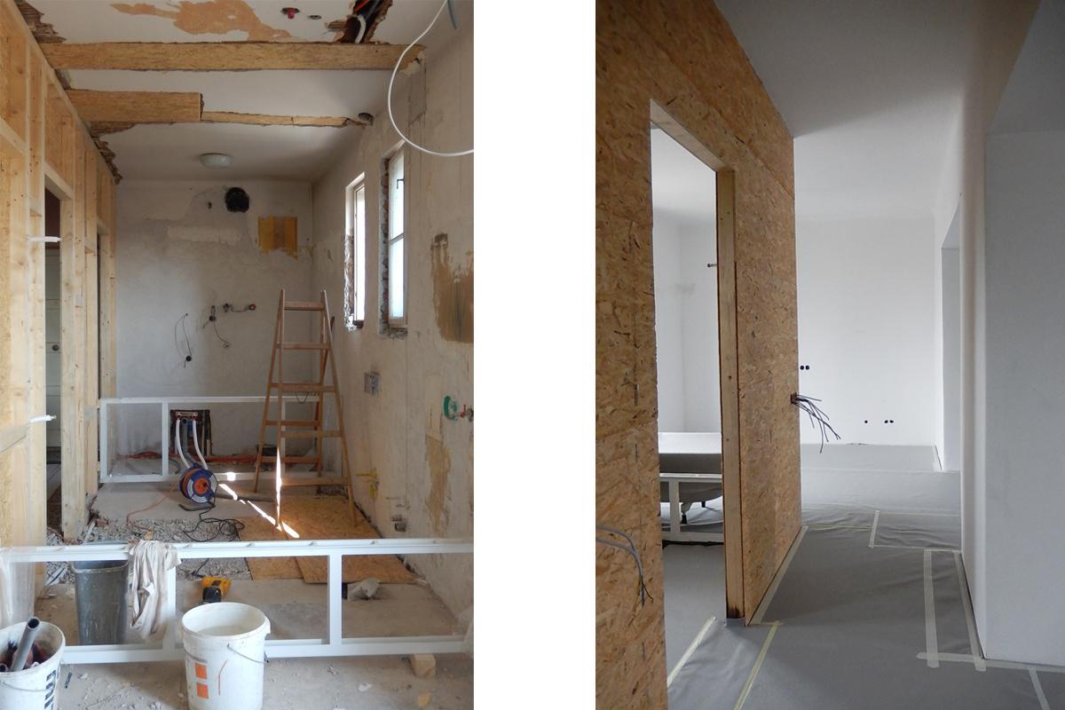 Nova lesena montažna stena
