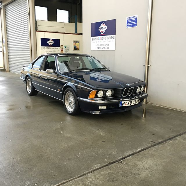 The cleanest #bmw #e24 #635csi I have seen. @stirling.motorworks for a major freshen up.