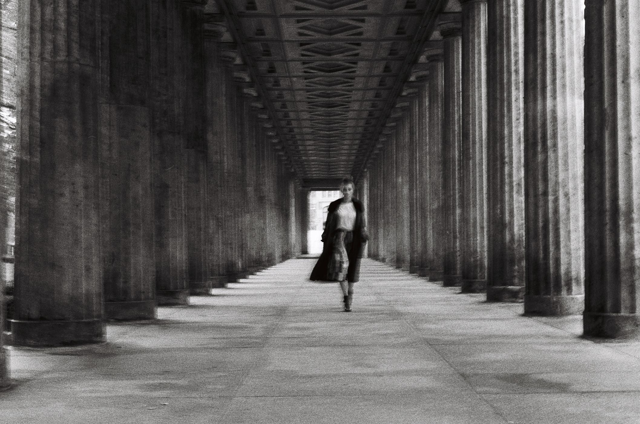 berlin fashion luxury cashmere coat campaign