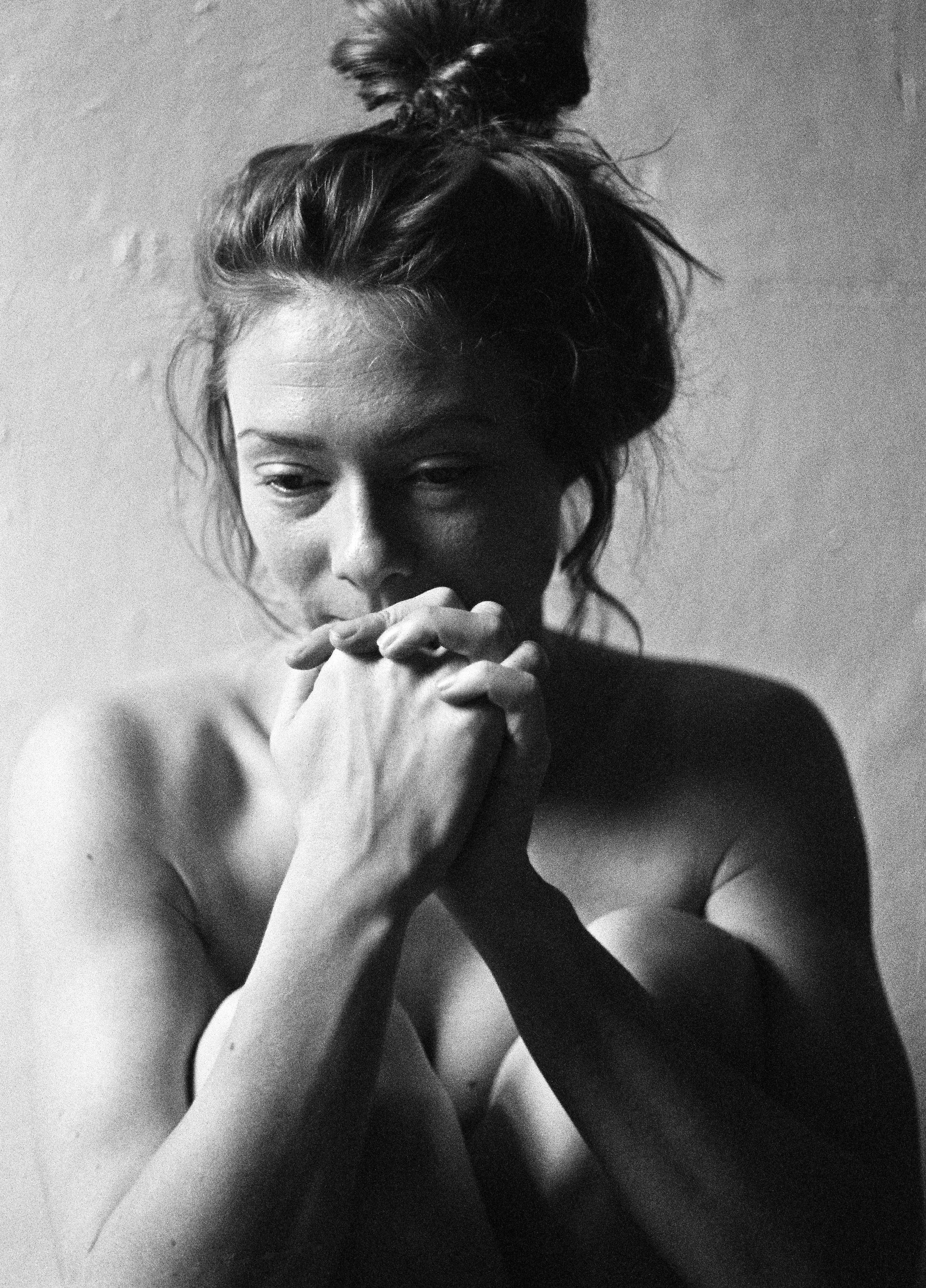 Nude Art Portrait of a Woman in Berlin