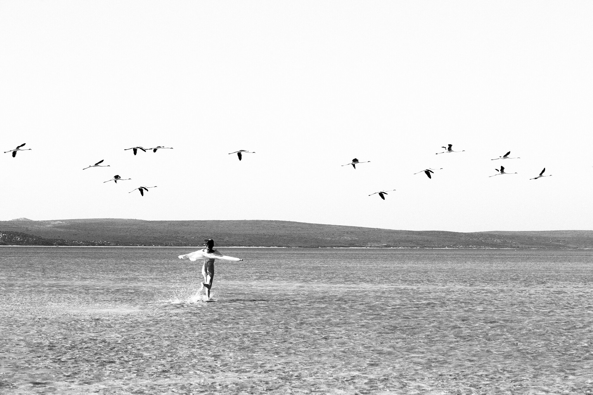 Sarah & the Birds, West Coast, South Africa 2017.