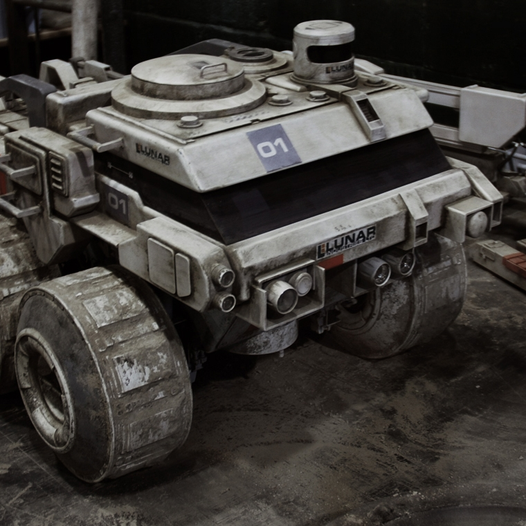 Lunar Rover Support Vehicles