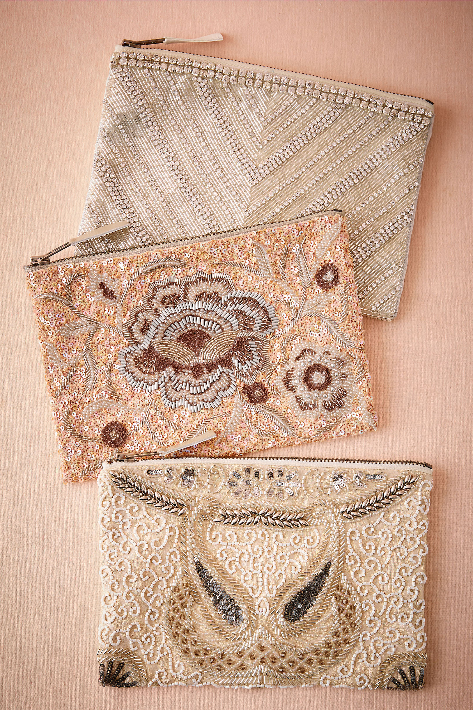 Santal Beaded Pouch