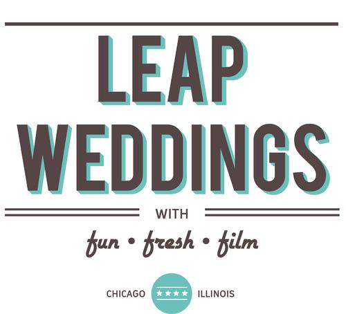 WEDDING FILMMAKING COURTESY OF   LEAP WEDDINGS