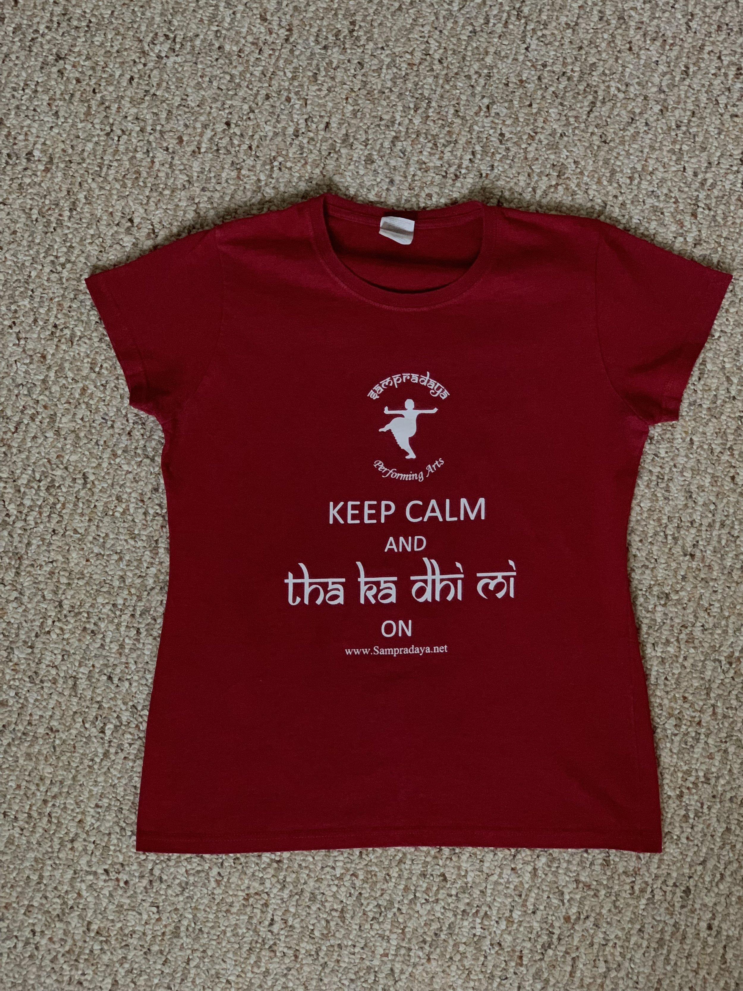 Sampradaya Shirt (Red/Maroon color)