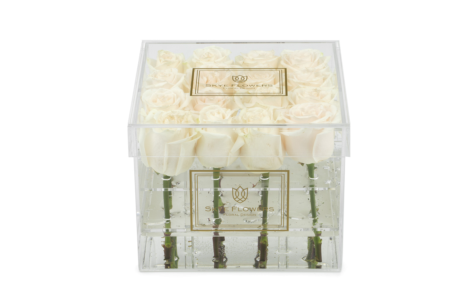 Signature Flower Box -Cream -