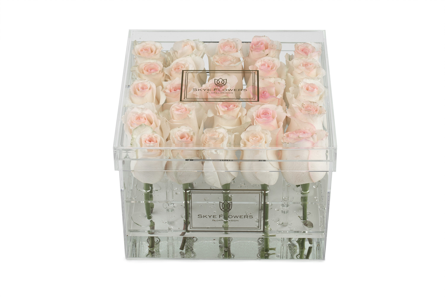 Signature Flower Box -Light Pink -