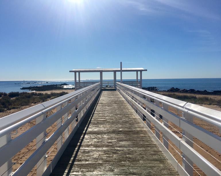 The Point Samson viewing platform. Credit: City of Karratha