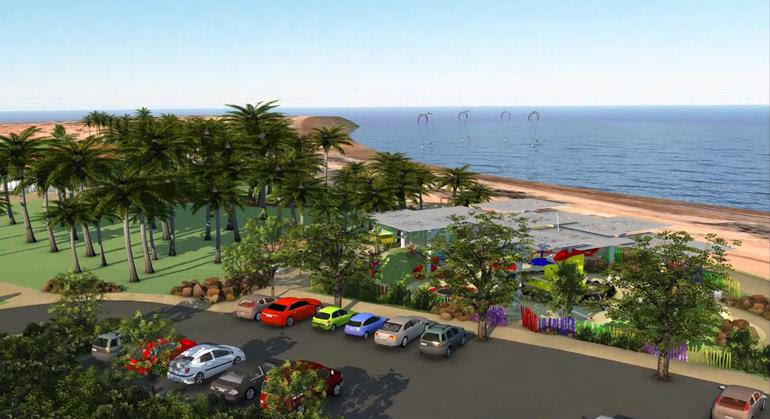 If completed, the agreement will enable the City to progress the $10.7m Dampier Palms and Hampton Oval redevelopment. Credit: City of Karratha