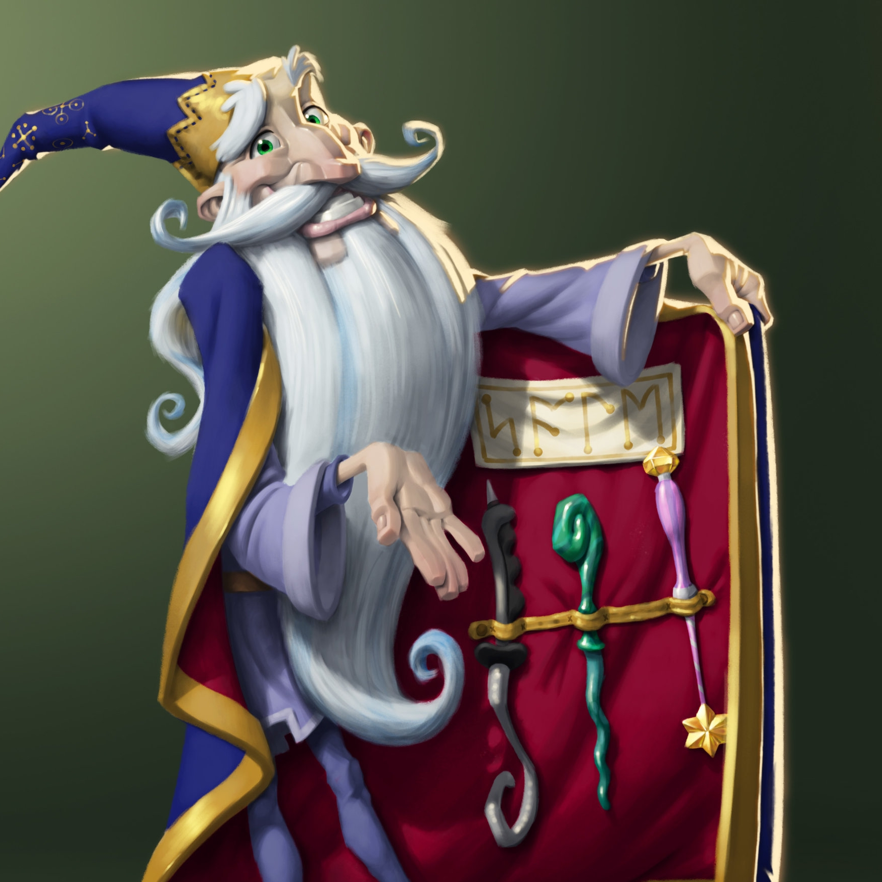 Copy of Wizard character design