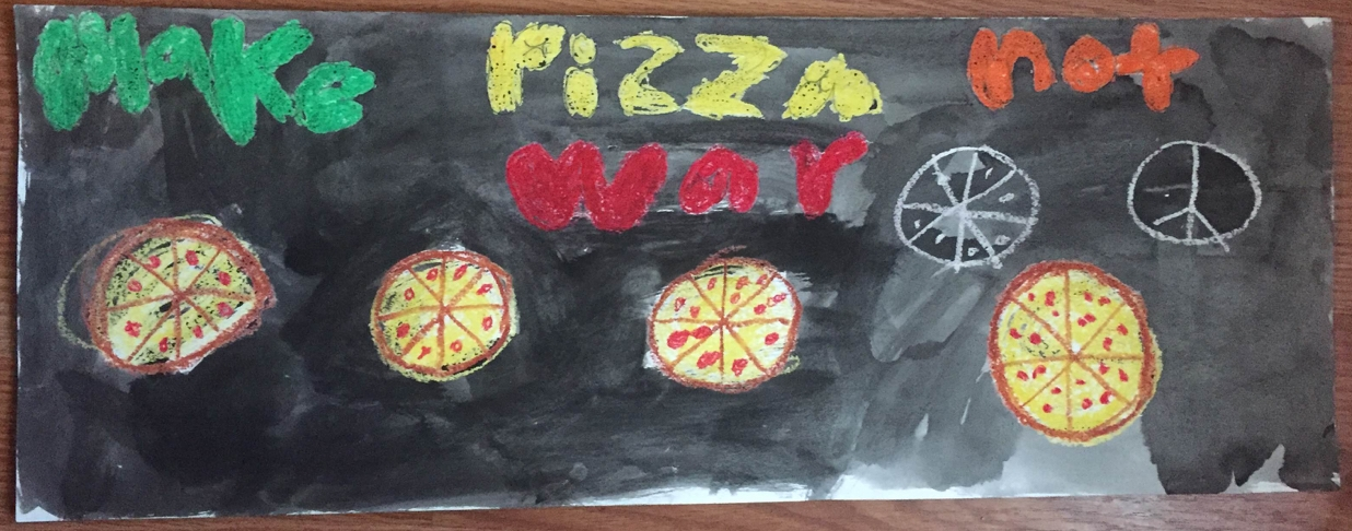 Make Pizza Not War, 2016