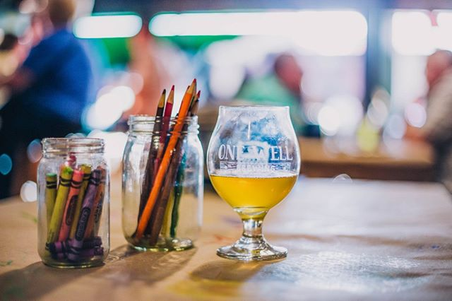 Kalamadoodle is heading to @onewellbrewing this Wednesday! Join us for drinks, drawing, and so much fun!  Full Event Details Here: Kalamadoodle Drink & Draw at One Well Brewing  Photo by @elementalkzoo