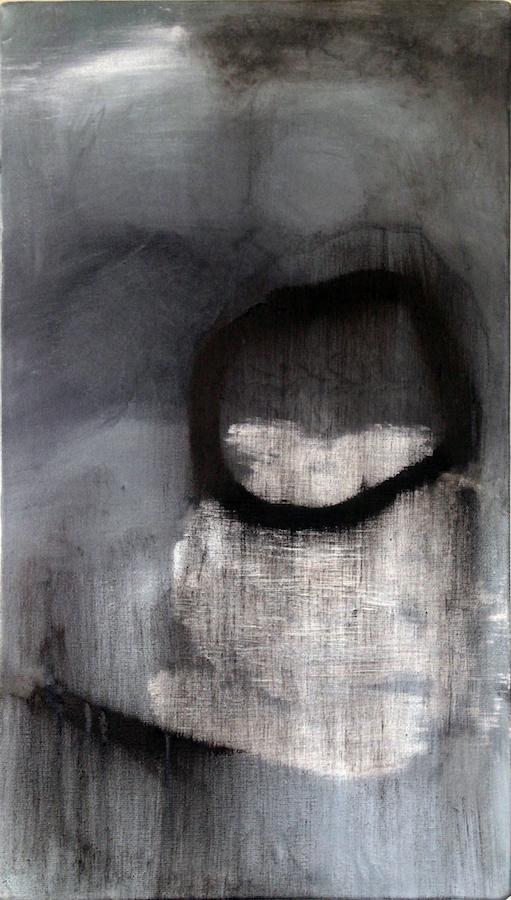 Bleeding Stone  (ii) 2015 Oil on Canvas 50 x 65 cm