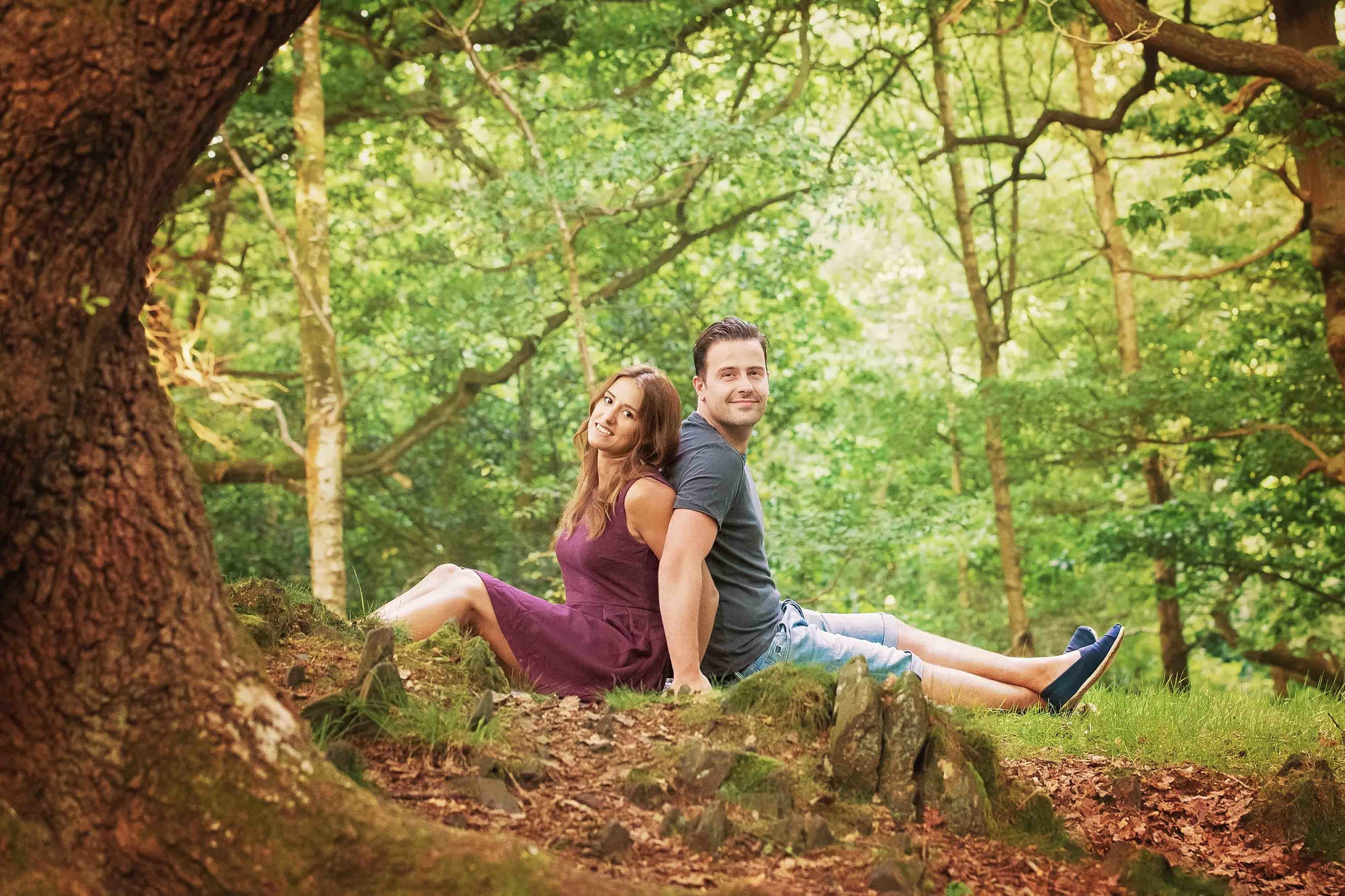 Tim & Megan, Swithland Wood, Leicestershire