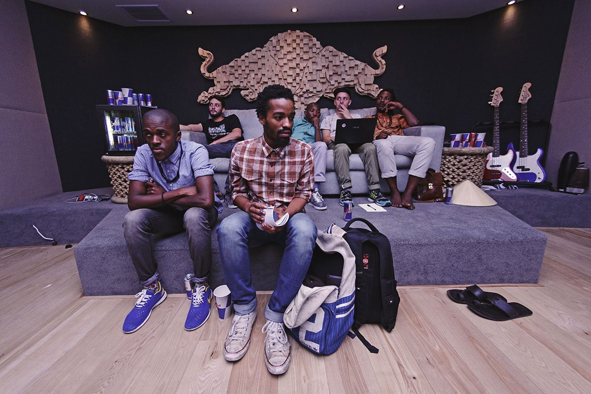 CDR Projects at Red Bull Studios in Cape Town