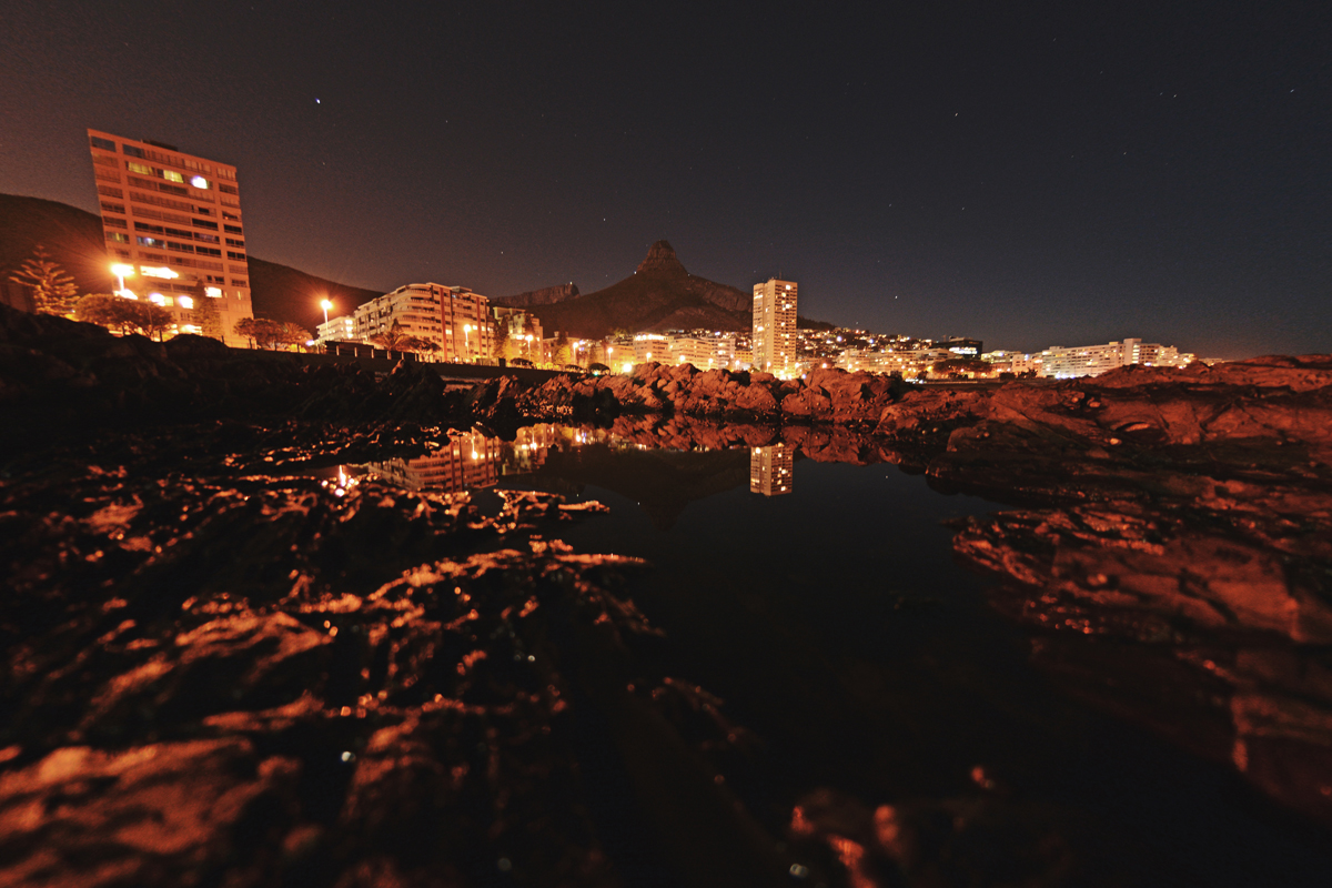 An example of a long exposure using a tripod