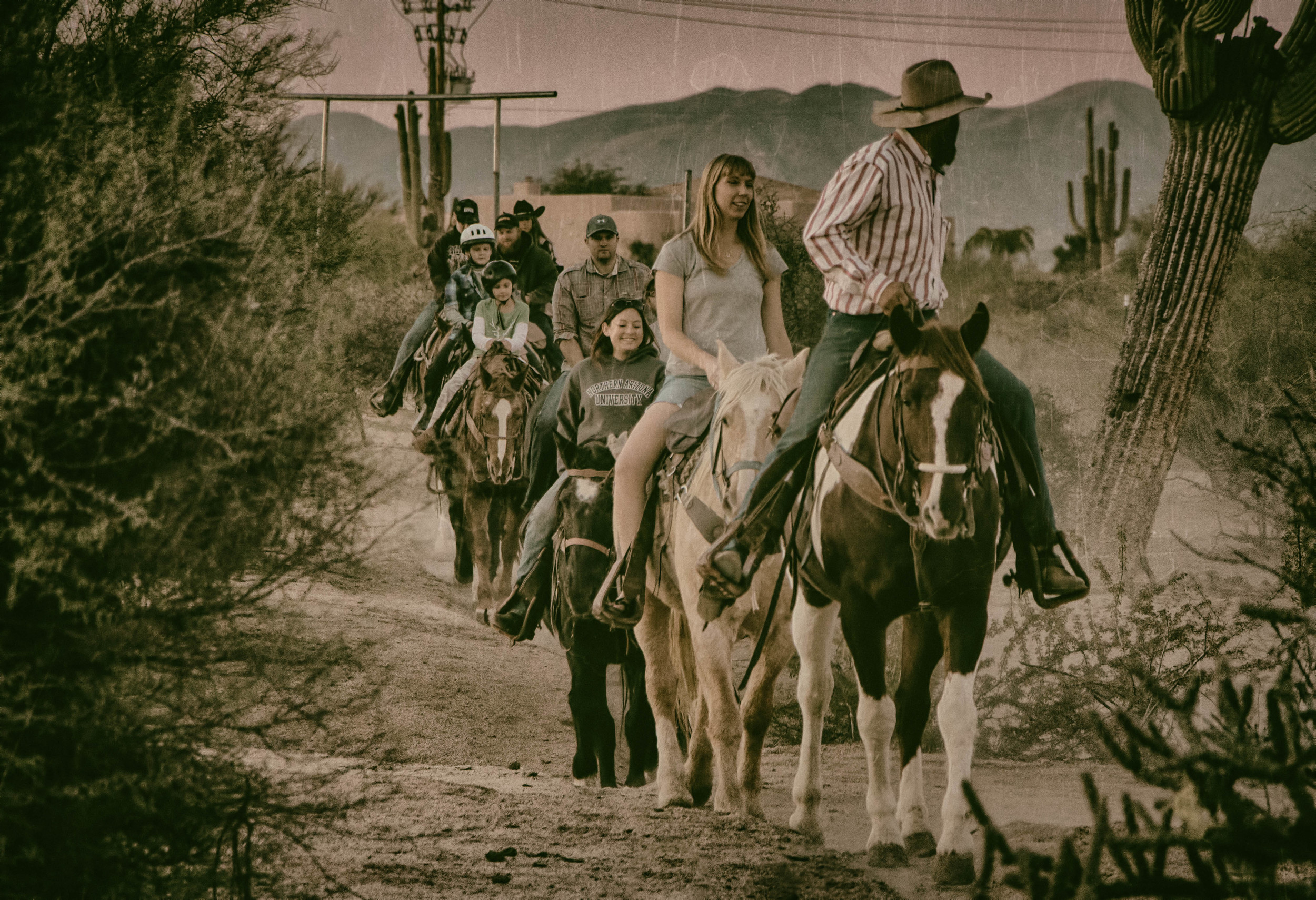 Horseback Ride at Cave Creek Outfitters