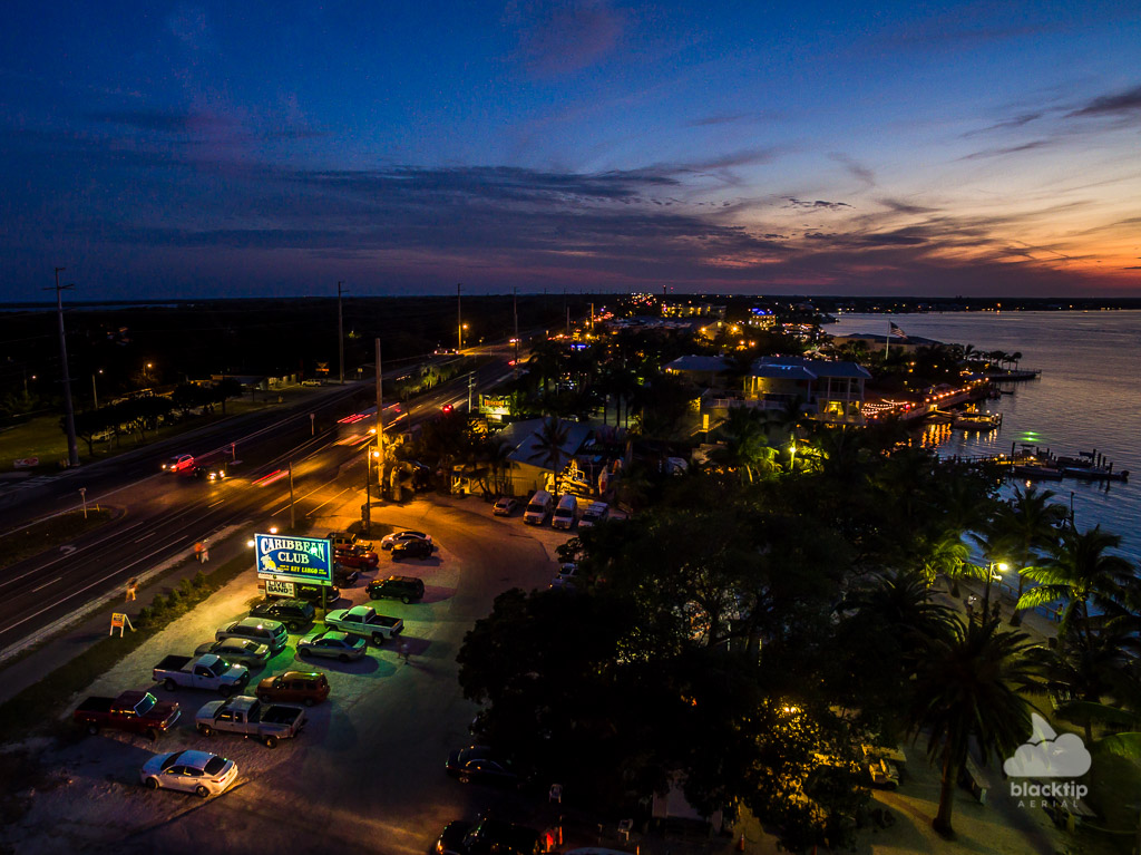 Key Largo Florida Keys business aerial drone photography