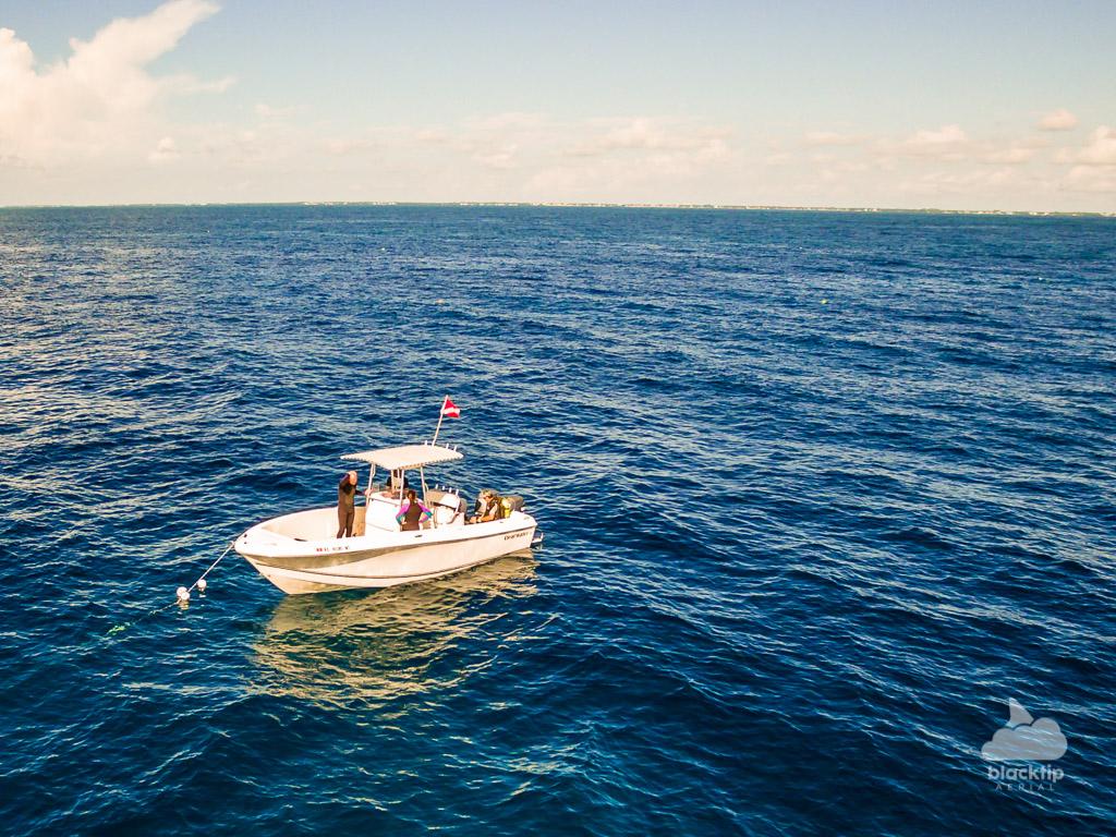 Tavernier Florida Keys scuba aerial drone photography