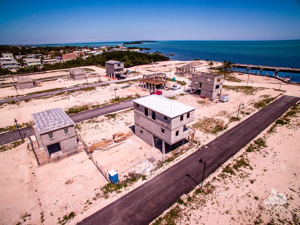 Key Largo Florida Keys construction aerial photography
