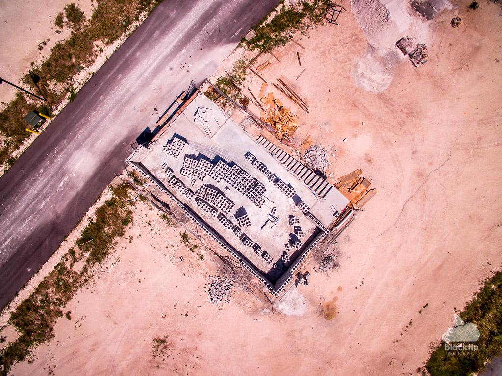 Key Largo Florida Keys construction progress aerial photography