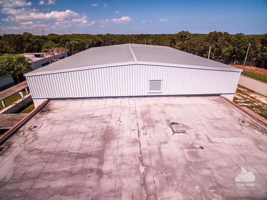 Roof inspection aerial drone Key Largo Florida Keys