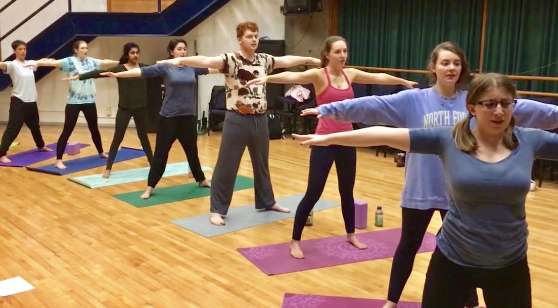 Yoga for Singer's Workshop, Hamilton College.