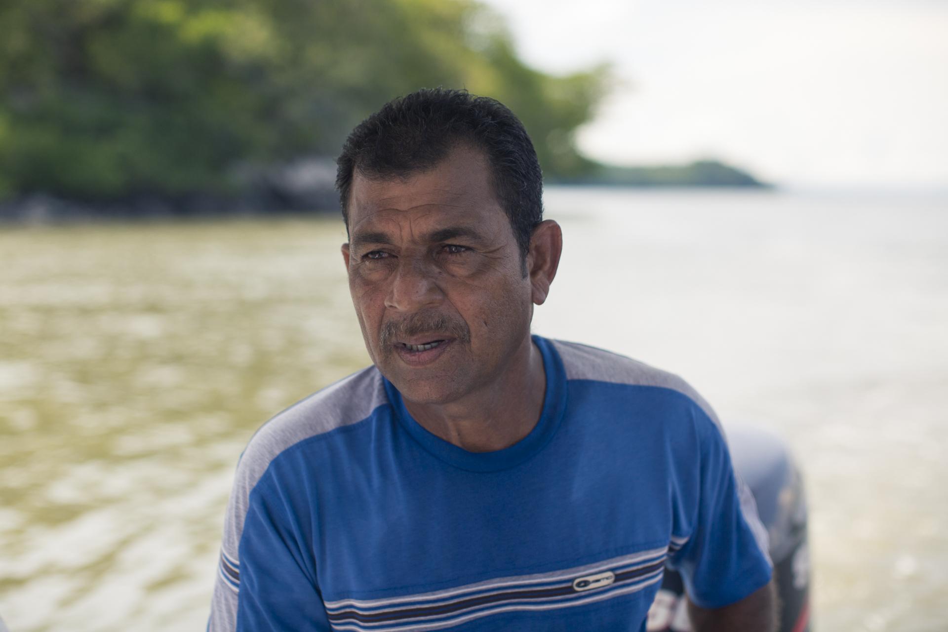 Muchos pescadores como don Rafael, han sufrido los cambios que conllevó la sobreexplotación de los recursos de Golfo de Nicoya.