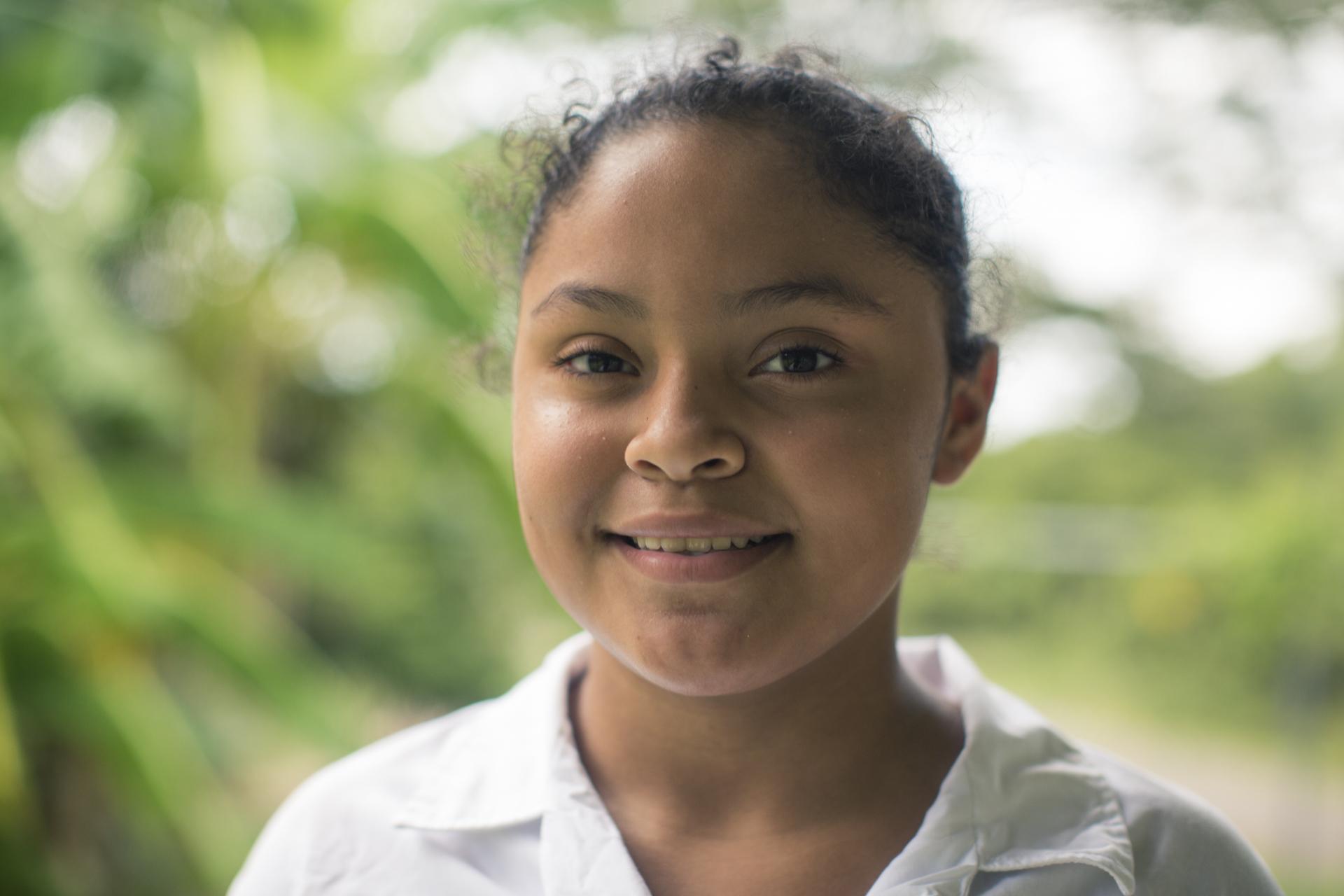Keysel Reyes, a su temprana edad, reconoce la diversidad que contiene el Golfo de Nicoya y la importancia de su cuido.