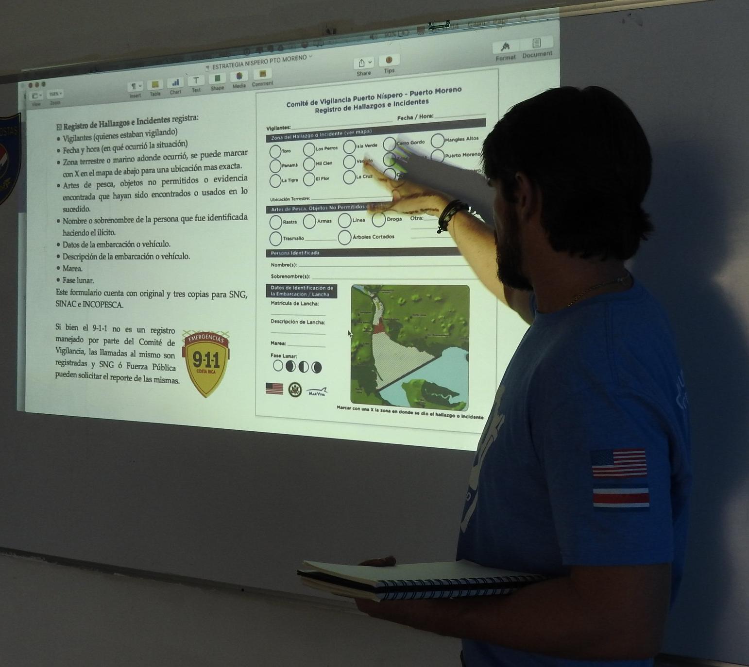 Pescadores y vecinos de ambas comunidades se capacitaron y dialogaron con las autoridades, para ser más vigilantes y denunciar. (Imagen de la Red del Golfo)