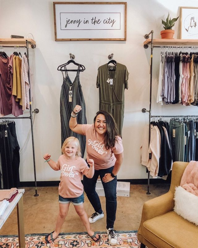 Effortless fashion? Yes, please! . Miss Addie & I had so much fun yesterday! . Have you been to @jennyinthecitympls? If your in the Twin Cities you MUST! @jennyinthecitympls has something for everyone [mamas, even your littles]! . Jen is the owner and is a mom of two beautiful daughters [Addie aka my stylist pictured]. I had a chance to spend time with her a couple of times and she truly cares about the customer and when Jen goes to market really thinks about what is best for everyone! . What will you expect to find at @jennyinthecitympls? You can find a whole lot of things you will want! The lines she carries you might find at other big boutiques but you will also find some sustainable, women empowering, giveback brands as well. . Swing in the store and or browse online! BONUS, @jennyinthecitympls has given me a promo code to share with all my friends to get 10% OFF [in-store and/or online]! Just mention you saw this post or enter in PROMO CODE: CT10 to apply your discount! . Support local. Shop small. Share often. . Xx -Christie #tclmpls #womenhelpingwomen #womenempowerment #girlpower #shopsmall #supportlocal #sharethelove #ootd
