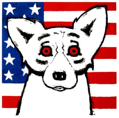 Blue Dog 9/11- God Bless America