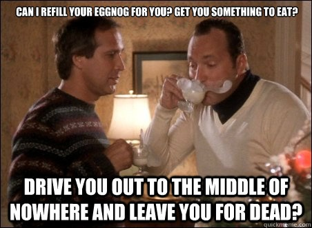 Is Cousin Eddie coming to your house this Thanksgiving?