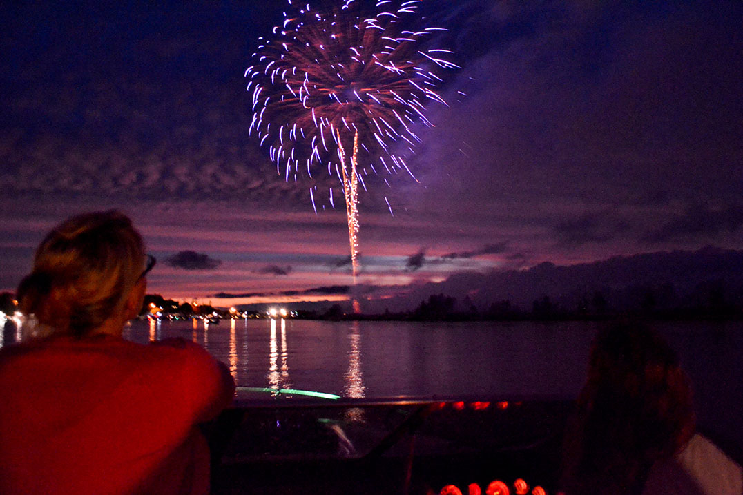 Annual fireworks celebration (Photo:  The Manitoulin Expositor )