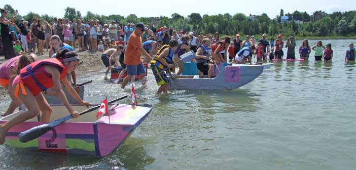 2014 boat races (Photo: The Manitoulin Expositor)