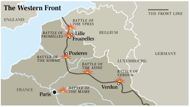 The Western Front (Photo:  Gordon Smith )