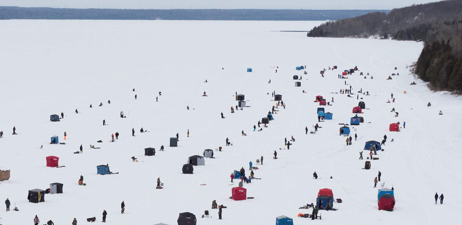 Wikwemikong Ice Fishing Derby (Photo:  Wiikwemikoong.ca )