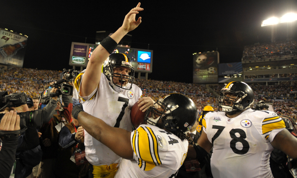 Steelers at Super Bowl XLIII (Photo:  For the Win )