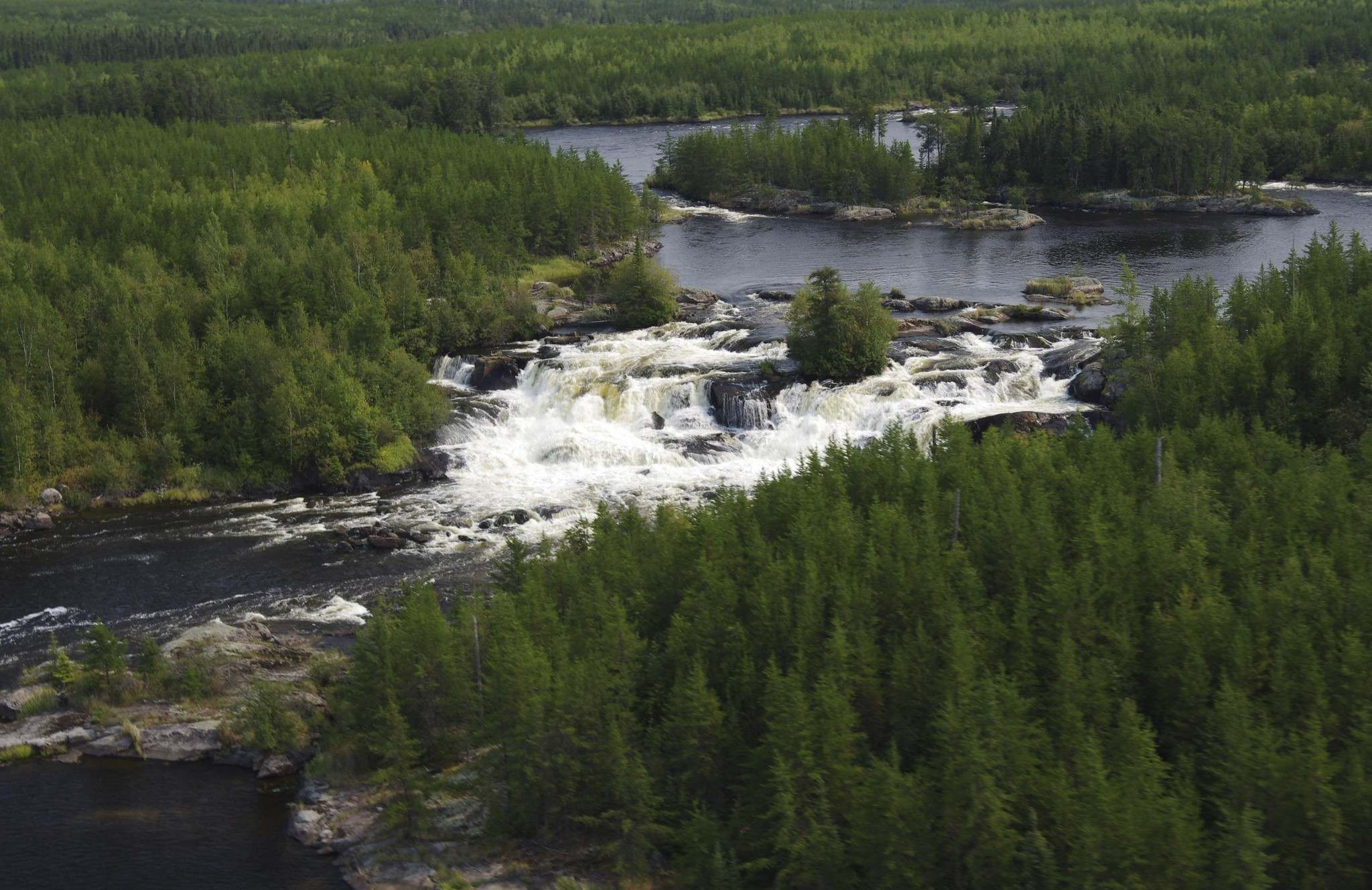 Pimachiowin Aki , a Boreal forest region and designated World Heritage Site along the Manitoba-Ontario border (Photo:  Winnipeg Free Press )