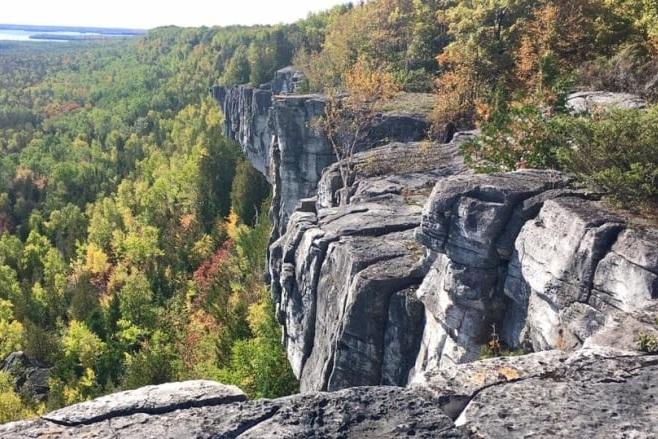 Niagara Escarpment, Cup and Saucer Trail (Photo:  CBC )
