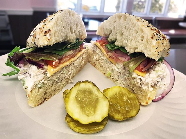 "Today, if you buy a 12"" Chicken Salad Sub, you'll get a bowl of soup for free!"