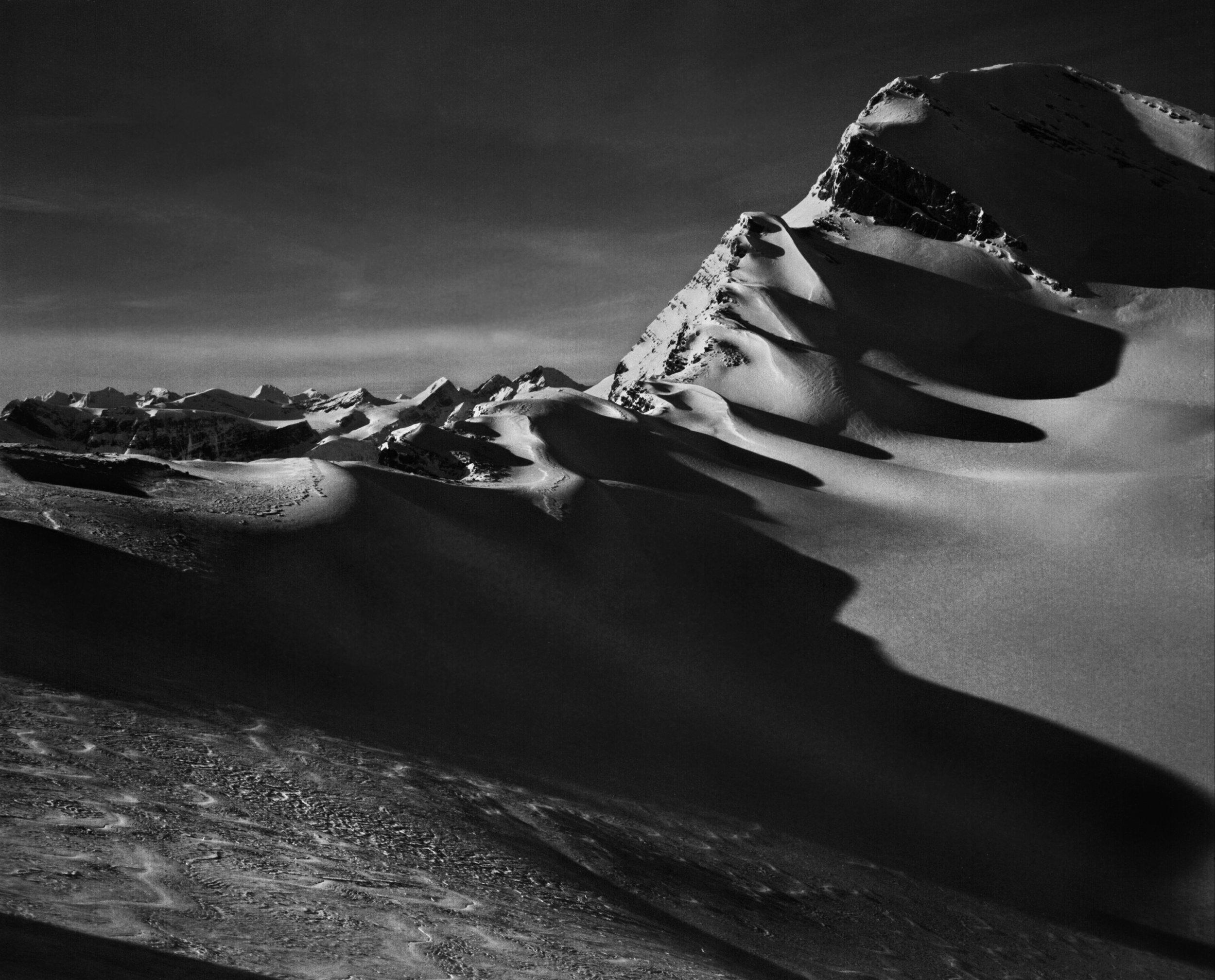 Image:Sebastião Salgado Courtesy The Whyte Museum of the Canadian Rockies