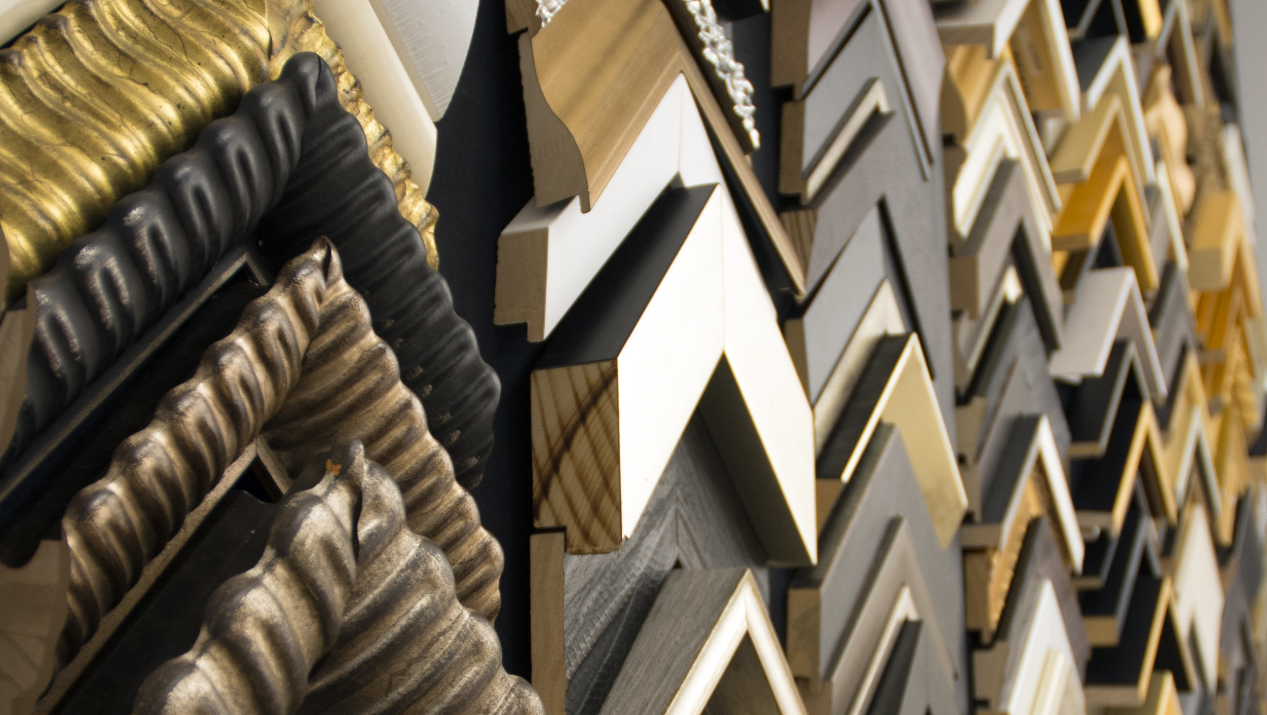 Framing and finishing - client-selected artwork happens at our South Boston frame shop. Our master framers and consultants collaborate to specify custom framing treatments, from specialty display techniques to budget-friendly solutions for high volume projects, that protect the value and maximize the impact of your investment.